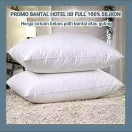 Bantal Tidur Kepala Hotel Bintang 5 isi Silikon (Bulu Angsa) Murah