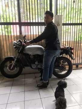 Honda tiger 2000 gas