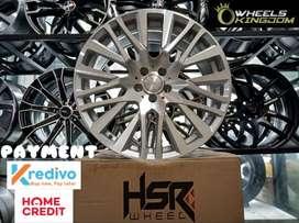 Velg Mobil Murah Keren Terbaru AKITA JD380 HSR R18X75 H5X100 ET45 SMF