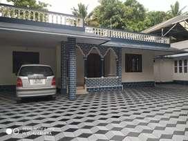 Aluva kadungalloor  3 bhk house for rent.