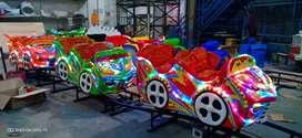 Kereta panggung odong odong tayo full fiber mini coaster RAA