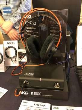 AKG Pure Class A Headphone Amplifier K1500 (Black) AKGK1500