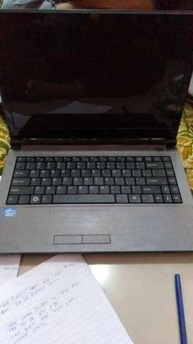 Laptop Wearnes Quadra C1-1422 HDD 320GB
