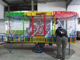 Odong odong kereta panggung tayo poli EK mobil mandi bola mini wisata