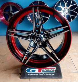 Velg Ring 17-7.5 h8-100/114.3 et42 bisa buat mobil Avanza Etios Vios