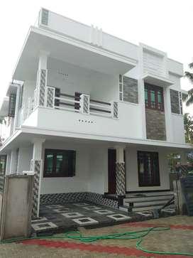 3 bhk 1500 sqft 3 cent new build house at edapally varapuzha town near