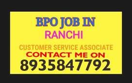 BPO job in Ranchi