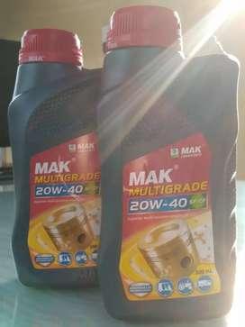 Engine oil Mak multigrade 20w-40(500ml)