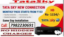 TATA SKY HD NEW CONNECTION