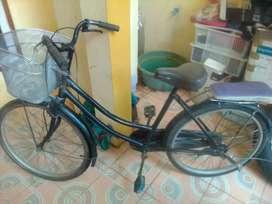 Sepeda speda onthel mini keranjang