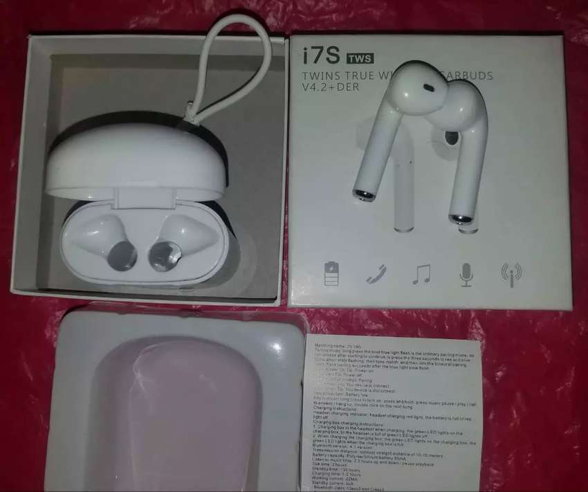 New i7s twin earbuds came from USA 0