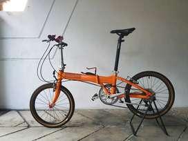 Sepeda lipat Dahon Vitesse d7 upgrade