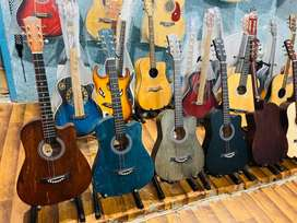 Beginner Guitar( New packed 3 Colors) sale sale 7499.Rs Happy club