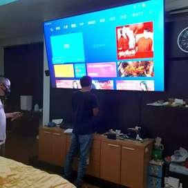 bracket tv on the way bjm kota