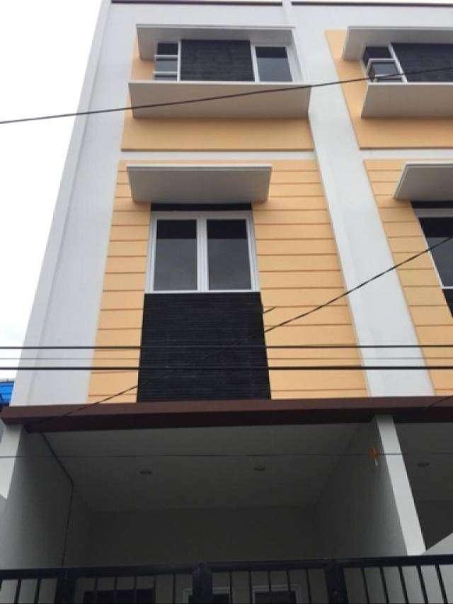 CHANDRA* rumah baru 3.5 lantai hadap barat di jelambar 0