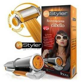 2 In 1 Rotating Hot Iron Hair Straightener and Curler