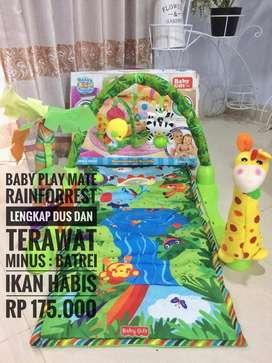 Karpet bermain Baby gift rainforest