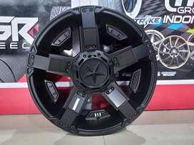 Velg Mobil HSR Wheel surabaya ring 18x9 rasta | Xpander sport