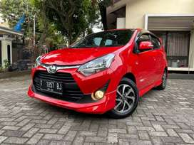 Toyota Agya 1.200 AT Merah Km 900 Perak Like New tt jazz Brio yaris