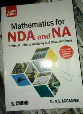 New edition Mathematics book for airforce and navy
