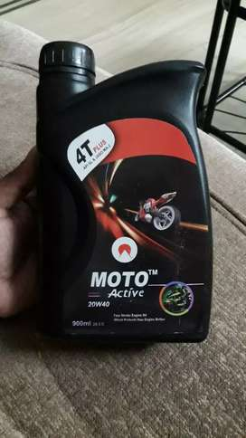 We sell all types of two wheeler engine oil