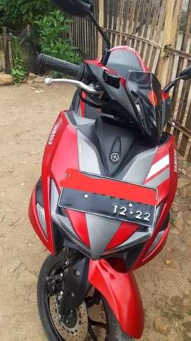 Dijual motor Aerox 2017
