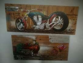 Paintings on Wooden Planks