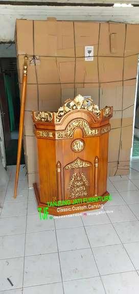 Mimbar masjid khutbah Jum'at murah