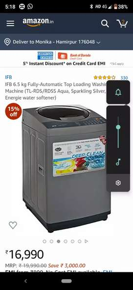 IFB TL-RDS 6.5Kgfully automatic washing machine with