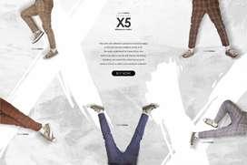 Celana Flanel Motif Square Series X5
