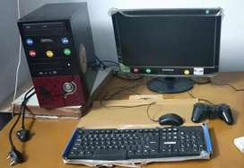 Computer with game pad