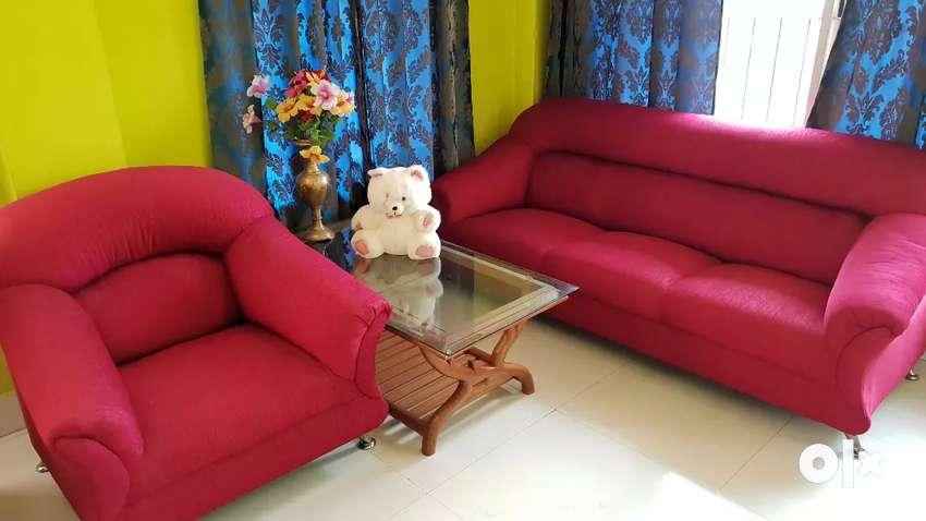 Sofa set RED colour 0