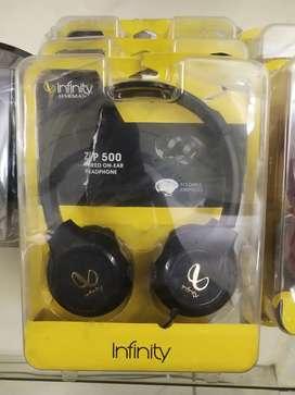 Brand new Infinity ZIP 500 WlRED ON -EAR Headphone