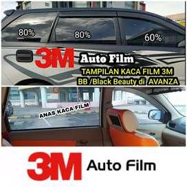 KACA FILM 3M bb 3M black beauty asli original buat AVANZA AGYA TERIOS