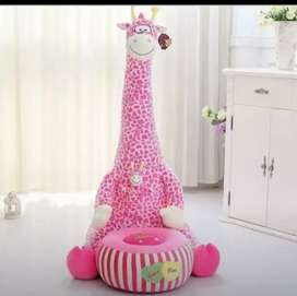 Girraffe Sofa. Seat for kids imported quality material soft and easy..