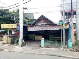 Di Jual Rumah dan tanah pinggir jalan Sutoyo S