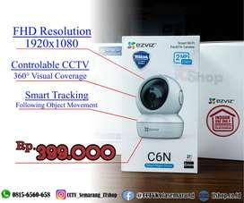 Ezviz C6N Wifi CCTV Terbaik