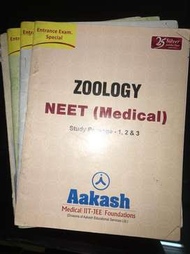 Aakash institute package for neet ug entrance exam and aiims exam