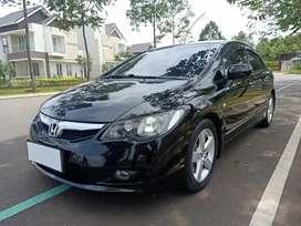 Honda Civic FD 1.8 AT 2009 Hitam Istimewa