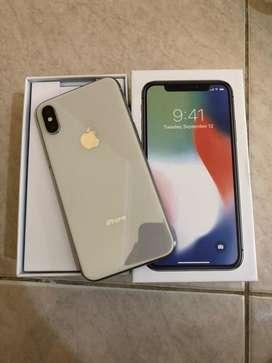 iPhone X 64Gb Silver Second original