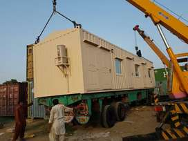 caravan container available for sale in murree lahore islamabad gawadr