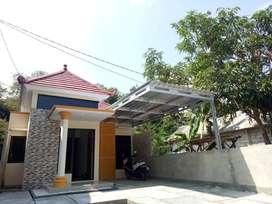 Rumah Murah Senotolo Sisa Lahan Sangat Luas, Timur Stasiun Sentolo