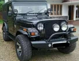 Mahindera modified thar jeep