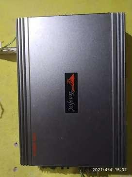 Power tensfox+kapasitor tensfox 3.5 farad+subwofer embassy siap pake