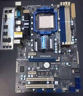 Motherboard AMD AM3+ DDR3 ASRock 770iCafe