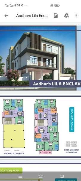 Ready to move 3bhk flate in Kahilipara, Dakshingaon..