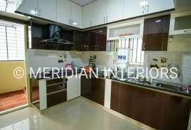 Interiors Design and Decorator-Modular Kitchen