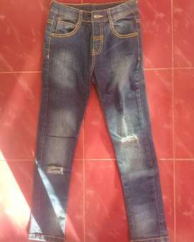 celana anak ripped jeans