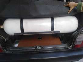 CNG Kit with cylinder and Stand