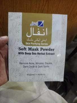 anti acne mask powder foam